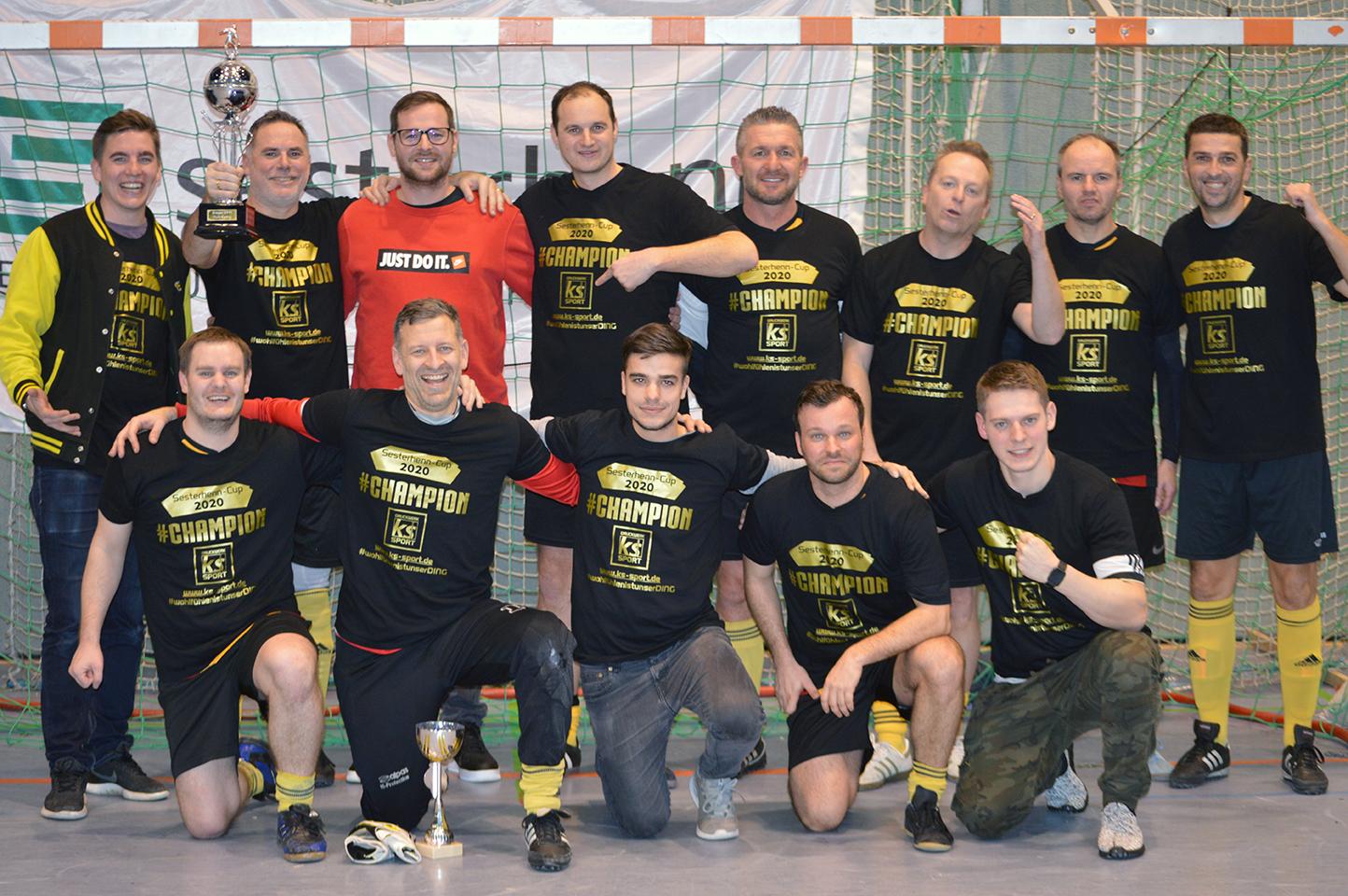 SV Elz heißt der Sieger beim diesjährigen Turnier der Alten Herren.